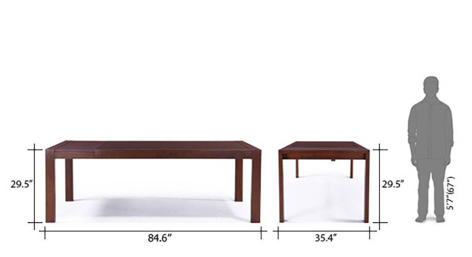 Vanalen 6 to 8 extendable dining table