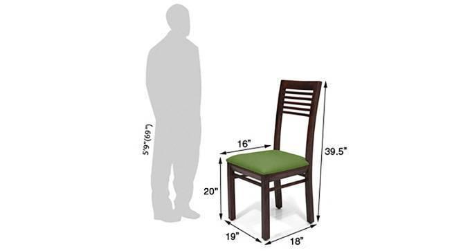 Zella dining chairs set of 2 green 05 img 8858 green mahogany dm