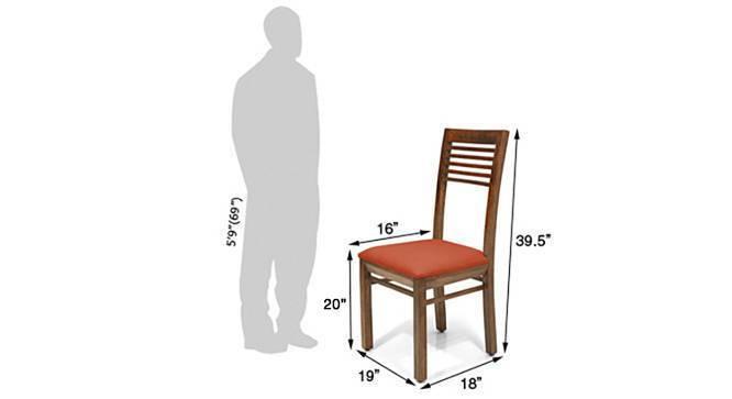 Zella dining chairs set of 2 orange 6 img 858 teak