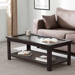 Claire Coffee Table (Mahogany Finish, Large Size)