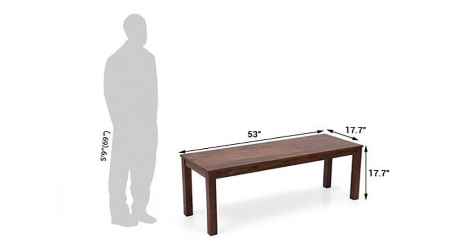 Brighton oribi 4 seater bench dining table set tk wb 12 13