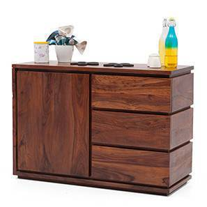 Designer Crockery Units: Buy Wooden Sideboard Cabinets Online in ...