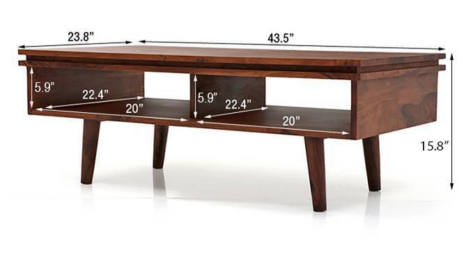 Parker coffee table teak 09