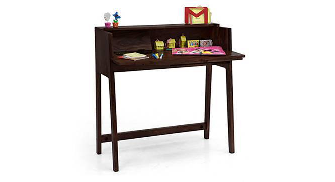 Rowling - Aurelio Study Sets (Mahogany Finish, Sandstorm) by Urban Ladder