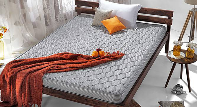 Essential Coir Mattress (Queen Mattress Type, 78 x 60 in Mattress Size, 4 in Mattress Thickness (in Inches)) by Urban Ladder