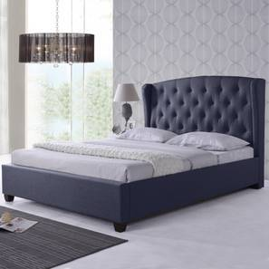 Holmebrook Upholstered Bed (Queen Bed Size, Charcoal Grey)