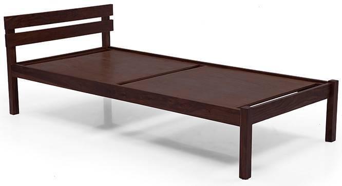 Baltimore Single Bed (Mahogany Finish) by Urban Ladder