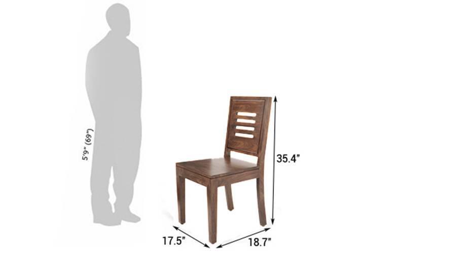 Capra puco chair set teak wheat brown 07
