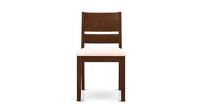 Cabalo Dining Chairs - Set of 2 (Beige, Dark Walnut Finish) by Urban Ladder