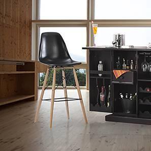 DSW Bar Stool Replica (Black)