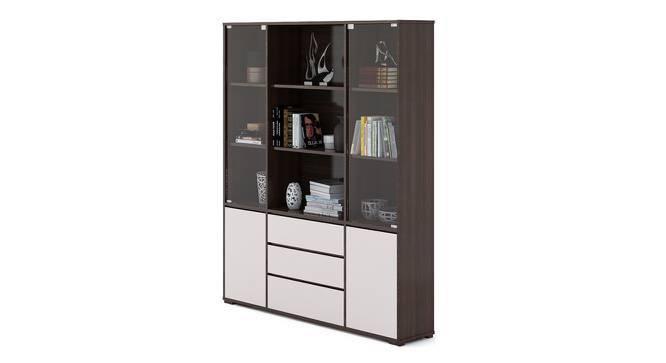 Iwaki Bookshelf With Glass Door Urban Ladder