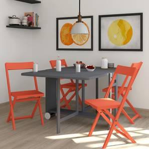 Frodo Folding Chair (Candy Orange)