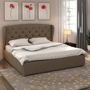 Holmebrook Upholstered Bed (Queen Bed Size, Mist Brown)