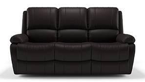 Tribbiani Recliner Sofa Set (Chocolate Brown Leatherette)