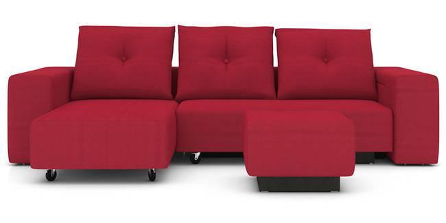 Xeno Configurable Sofa Set(Red) (Red, None Custom Set - Sofas, Fabric Sofa Material, Regular Sofa Size, Regular Sofa Type, Compact Set Standard Set - Sofas)