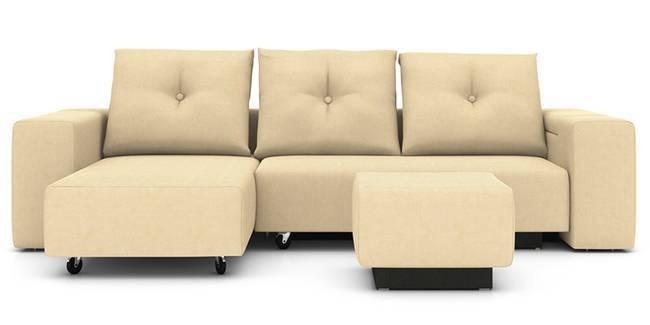 Xeno Configurable Sofa Set (Beige) (None Custom Set - Sofas, Beige, Fabric Sofa Material, Regular Sofa Size, Regular Sofa Type, Compact Set Standard Set - Sofas)