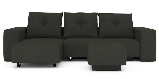 Xeno Configurable Sofa Set (Grey) (Grey, None Custom Set - Sofas, Fabric Sofa Material, Regular Sofa Size, Regular Sofa Type, Compact Set Standard Set - Sofas)