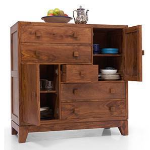 Magellan Chest of Drawers (Teak Finish)