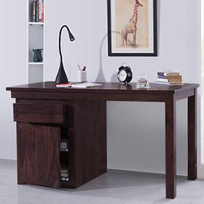 Exceptionnel Bradbury Desk (Mahogany Finish, Large Size) By Urban Ladder