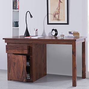 Bradbury Desk (Teak Finish, Large Size)