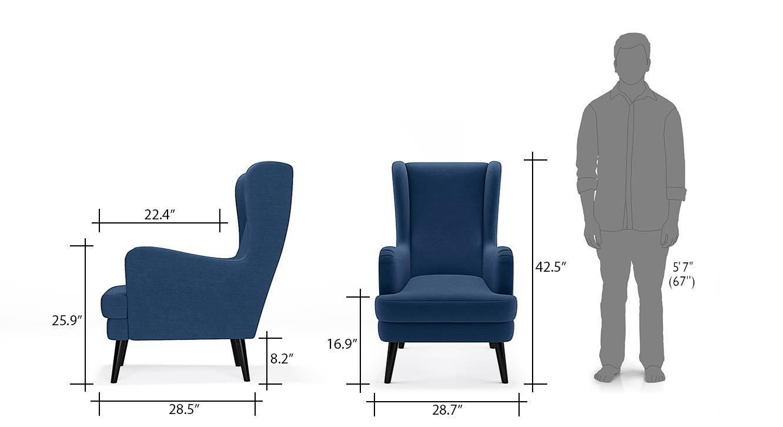 Genoa wing chair cb 8