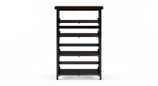 Rhodes Folding Book Shelf (Mahogany Finish, Wide Configuration) by Urban Ladder
