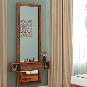Ohio Mirror (Teak Finish) by Urban Ladder