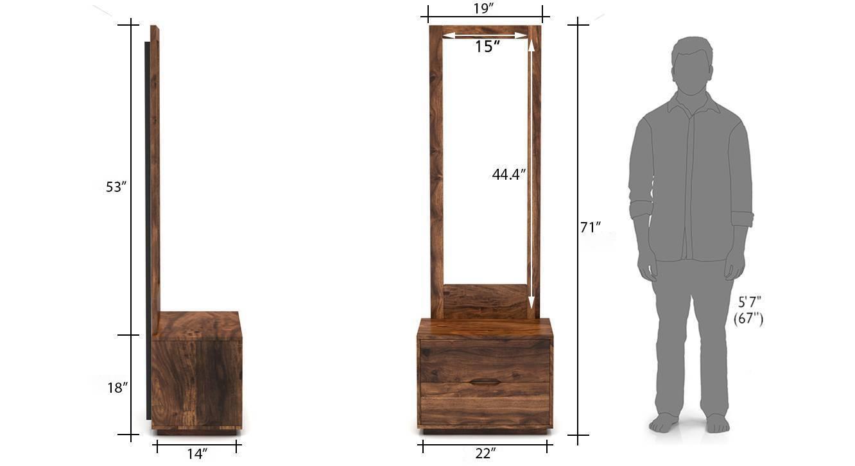 Zephyr dresser with mirror tk