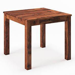 Arabia 4 Seater Dining Table (With Storage) (Teak Finish)