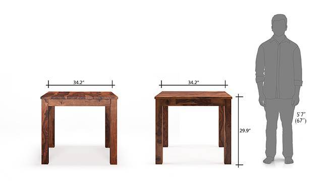 Arabia zella 4 seater storage dining table set tk 12