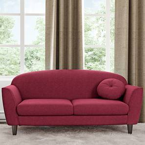 Vivien Loveseat (Sangria Red) by Urban Ladder
