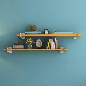 Ryter Shelves - Set Of 2 (Yellow, 3.5' Shelf Width)
