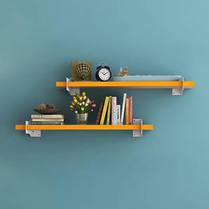 Ryter Shelves - Set Of 2 (Yellow, 2.5' Shelf Width)