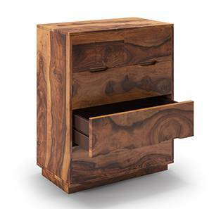 Zephyr Chest of Drawers (Teak Finish)