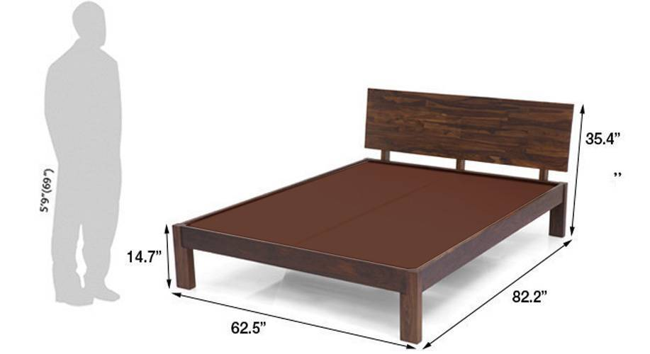 Boston bed teak
