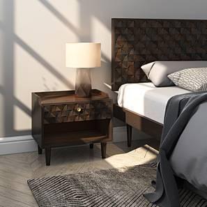 Pierre Bedside Table (American Walnut Finish)