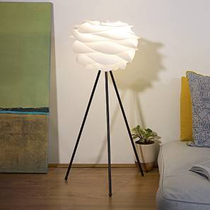 Camellia Floor & Table Lamp (White)