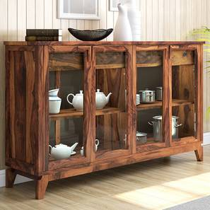Akira Sideboard Teak Finish Xl Size By Urban Ladder