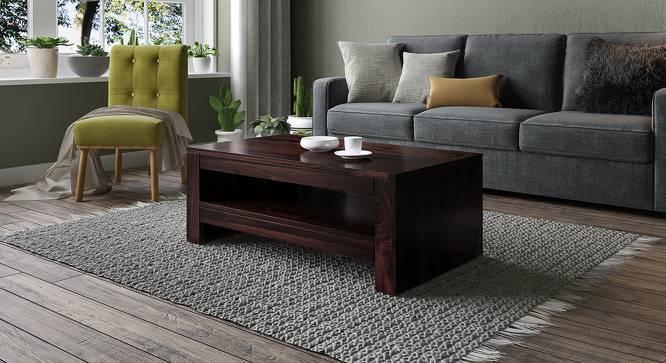 Epsilon Coffee Table (Mahogany Finish) by Urban Ladder
