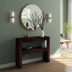 Epsilon Console Table (Mahogany Finish)