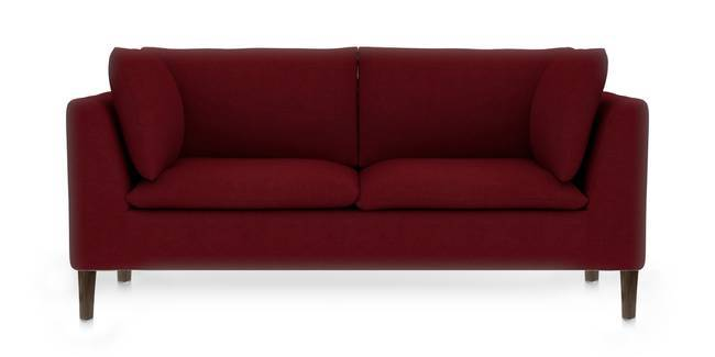 Bau Modular Sofa (Sangria Red) (Ottoman Custom Set - Sofas, None Standard Set - Sofas, Sangria Red, Fabric Sofa Material, Regular Sofa Size, Modular Sofa Type)