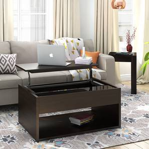 alita laptop coffee table dark oak finish