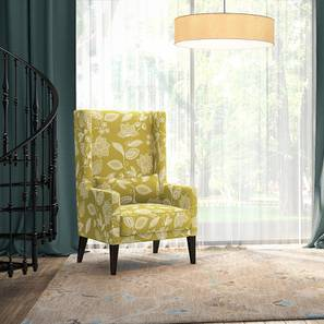 Morgen Wing Chair (Olive Vines)