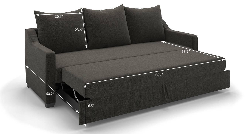 Travis sofa cum bed urban ladder for Sofa xum bed