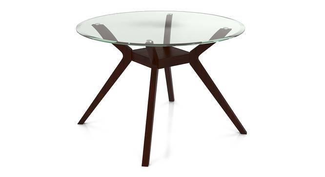 Wesley Thomson 4 Seater Round Glass Top Dining Table Set Urban Ladder