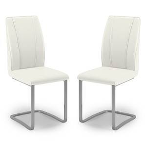 Seneca dining chair set of 2 (White Finish) by Urban Ladder