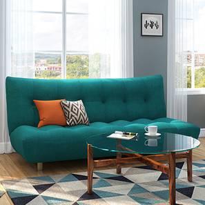Palermo Sofa Cum Bed (Blue)