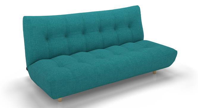 Palermo Sofa Cum Bed (Blue) by Urban Ladder