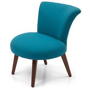 Robbins Lounge Chair (Aqua) by Urban Ladder