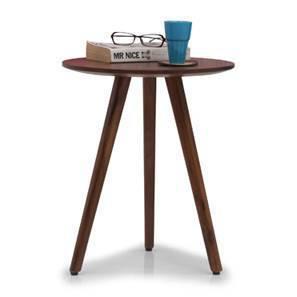 Robbins Teak Wood Side Table (Teak Finish)